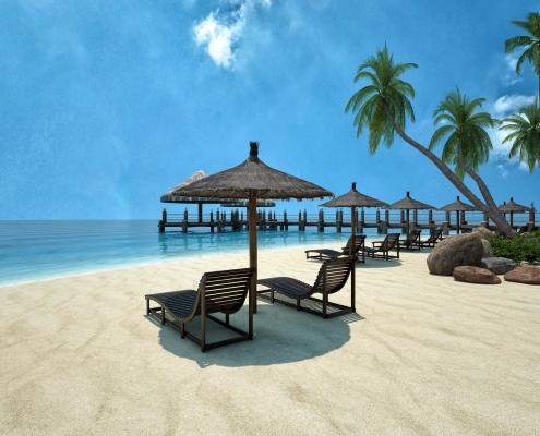 Villaggio Caribe - Praia Contemplação